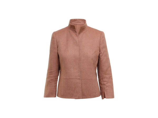 Dusty Rose Akris Cashmere Jacket