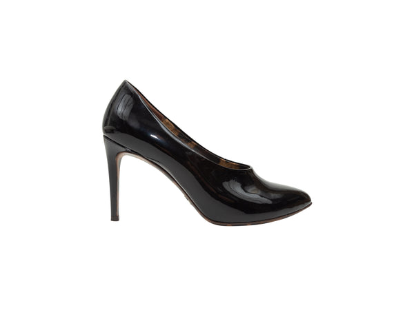 Black Dolce & Gabbana Patent Leather Pumps