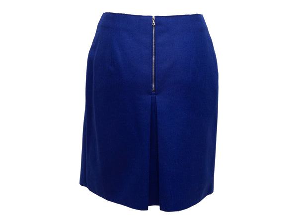 Purple Diane Von Furstenberg 'Aurora' Wool Dress