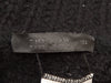 Black Lanvin Embossed Suede Wedge Boots