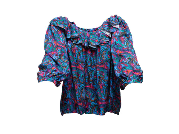 Navy Gucci Suede Kiltie Horsebit Loafers