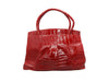 Red Nancy Gonzalez Crocodile Handbag