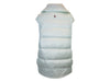 White Moncler Grenoble Down Vest