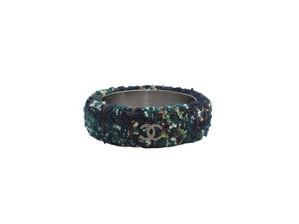 Multicolor Chanel AW 2013 Tweed Bangle