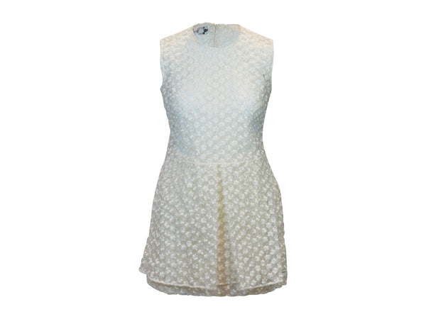 White Simone Rocha Silk Sleeveless Dress