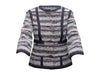 Brown & Red MZ Wallace Fabric Handbag