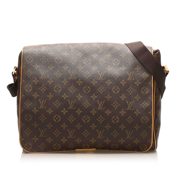 Brown Louis Vuitton Monogram Abbesses Bag