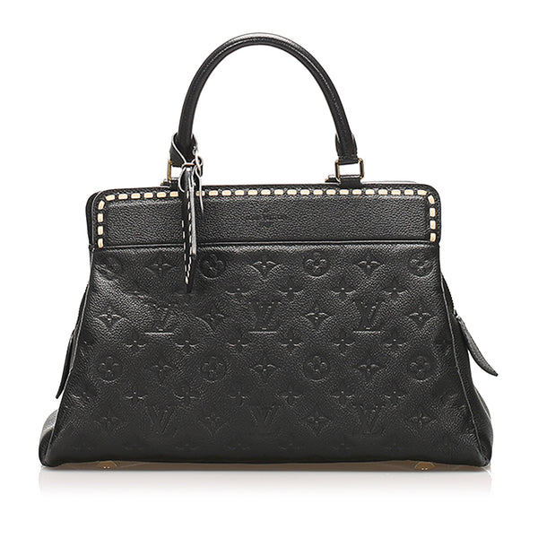 Black Louis Vuitton Monogram Empreinte Vosges MM Bag