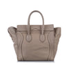 Grey Celine Luggage Leather Tote Bag