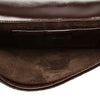 Brown Gucci Pony Hair Clutch Bag