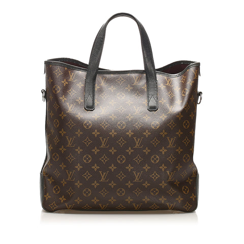 Brown Louis Vuitton Monogram Macassar Canvas Davis Bag