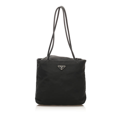 Black Prada Tessuto Shoulder Bag
