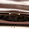 Brown YSL Leather Shoulder Bag