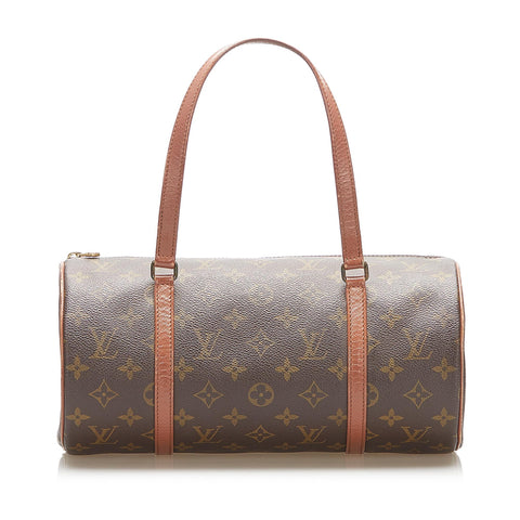 Brown Louis Vuitton Monogram Papillon 30 Bag