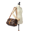 Brown Louis Vuitton Monogram Saumur 35 Bag