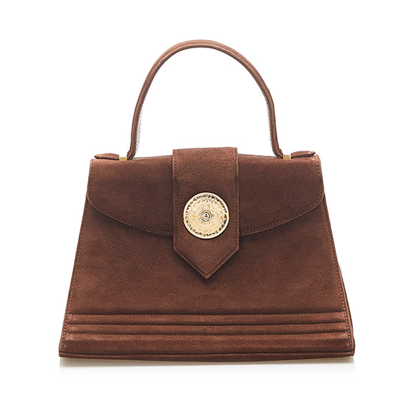 Brown YSL Leather Handbag Bag