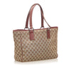 Brown Gucci GG Canvas Tote Bag