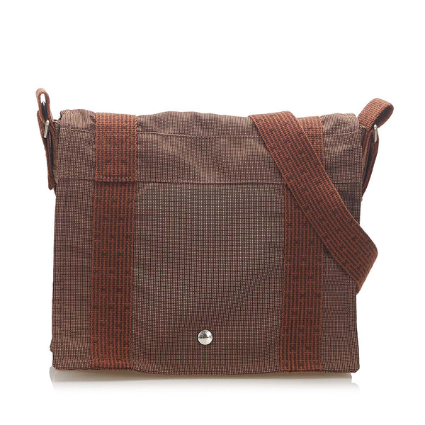 Brown Hermes Fourre Tout Besace PM Bag