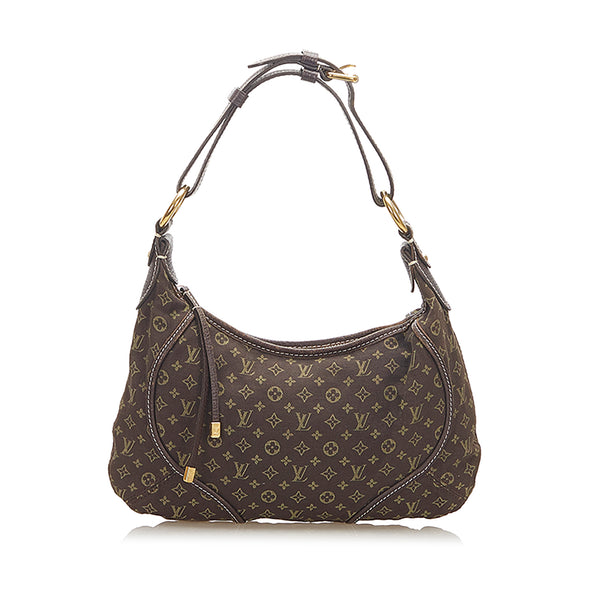 Brown Louis Vuitton Monogram Mini Lin Manon PM Bag