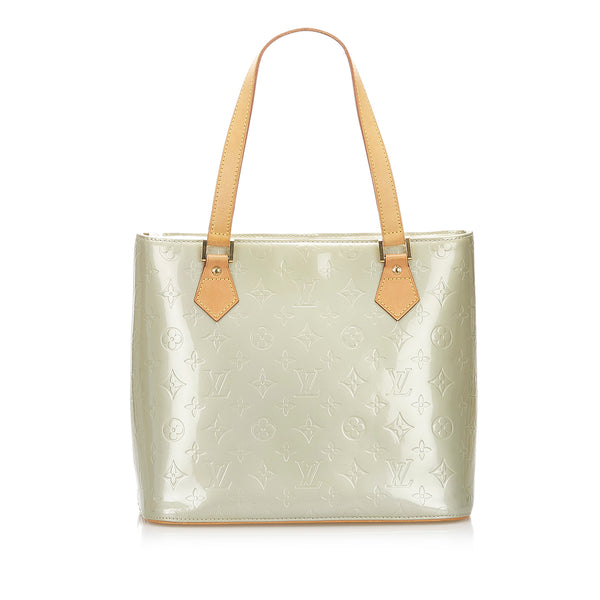 Green Louis Vuitton Vernis Houston Bag