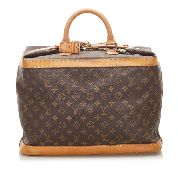 Brown Louis Vuitton Monogram Cruiser 55 Bag