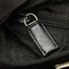 Black Prada Tessuto Crossbody Bag
