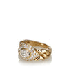 Gold Bvlgari 18K Diamond Ring