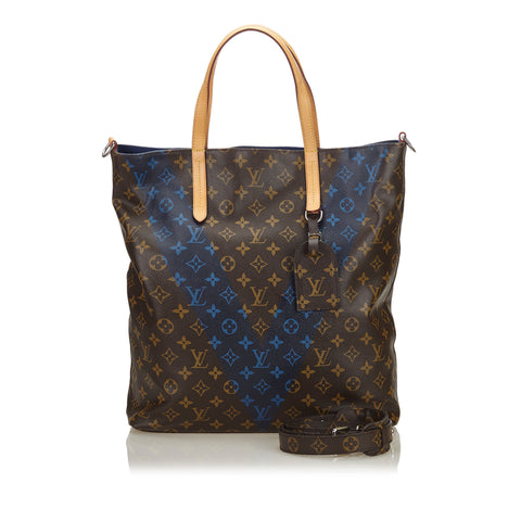 Brown Louis Vuitton Monogram Cabas Jour Tote Bag