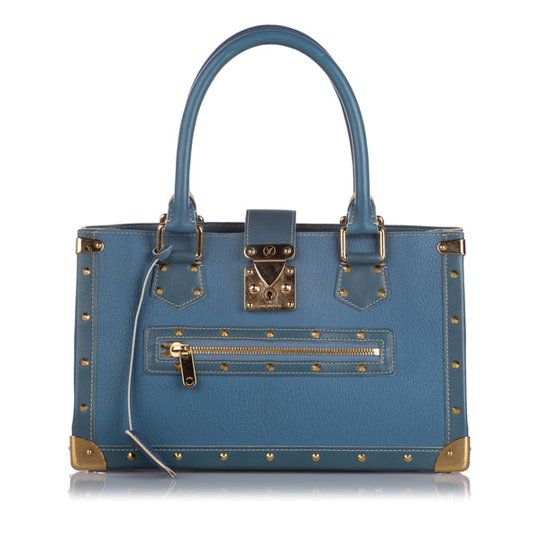 Blue Louis Vuitton Suhali Le Fabuleux Bag