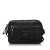 Black MCM Visetos Crossbody Bag