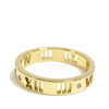 Gold Tiffany Diamond Atlas Pierced Ring