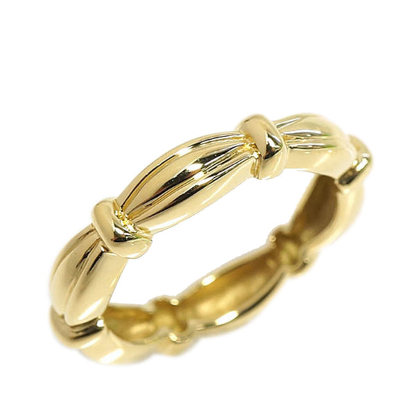 Gold Tiffany Ribbed Ring