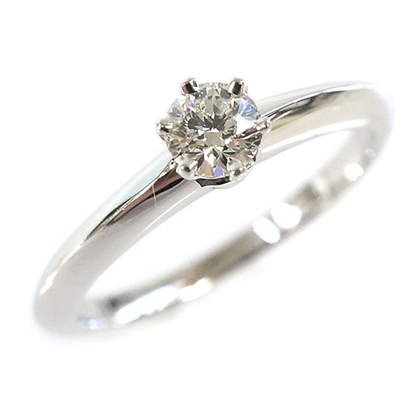 Silver Tiffany Diamond Ring