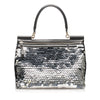 Black Dolce&Gabbana Miss Sicily Sequined Handbag Bag