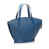 Blue Louis Vuitton Epi Saint Jacques PM Short Strap Bag
