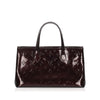 Burgundy Louis Vuitton Vernis Wilshire PM Bag
