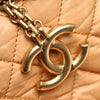 Tan Chanel Mademoiselle Bowling Bag