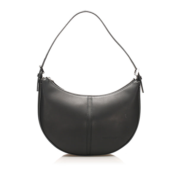 Black Burberry Leather Shoulder Bag
