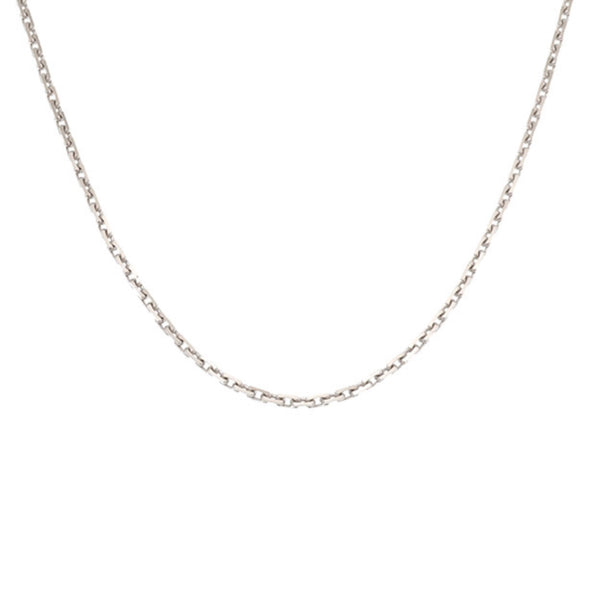 Silver Cartier Slave Chain Necklace