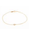 Pink Tiffany 18K By The Yard Bracelet