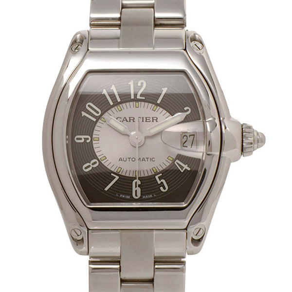 Gray Cartier Roadster Watch