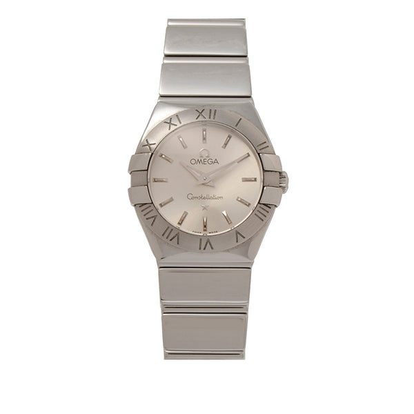 Silver Omega Constellation Watch