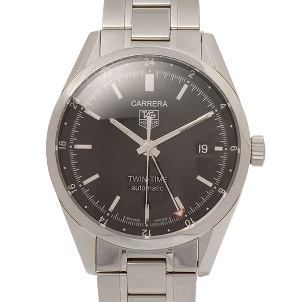 Silver Tag Heuer Carrera Caliber 7 Watch