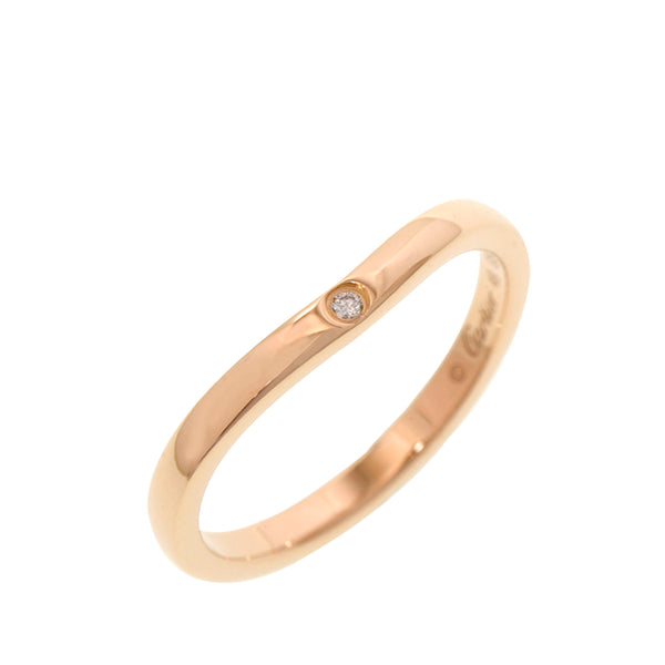 Gold Cartier 18K Ballerina Curve Ring