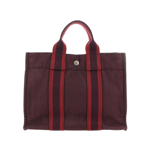 Red Hermes Fourre Tout PM Bag