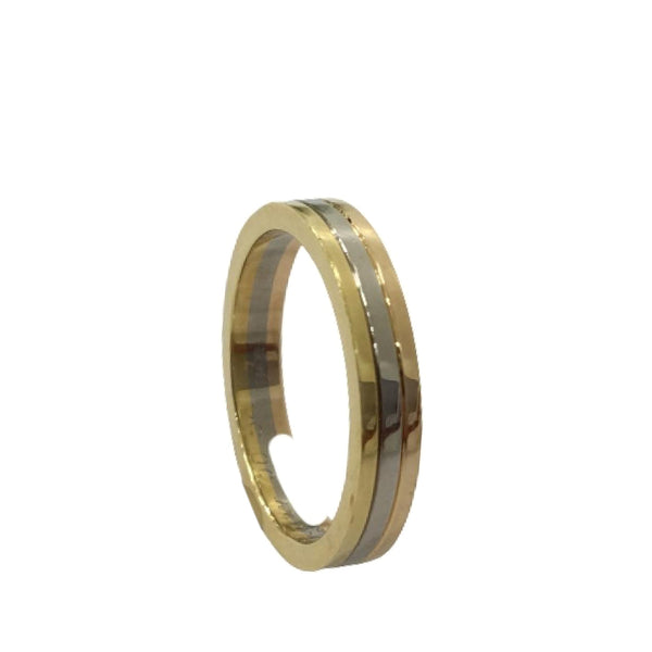 Gold Cartier Trinity Wedding Band
