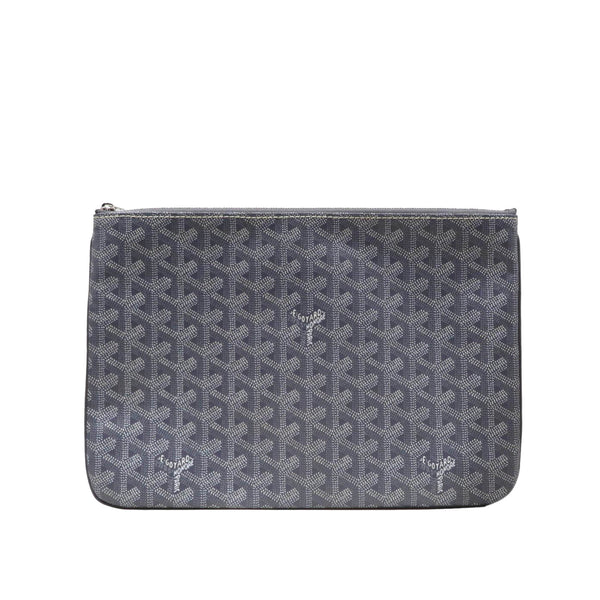 Gray Goyard Goyardine Senat MM Bag