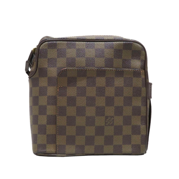 Brown Louis Vuitton Damier Ebene Olav PM Bag