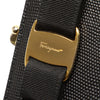 Black Ferragamo Vara Leather Crossbody Bag