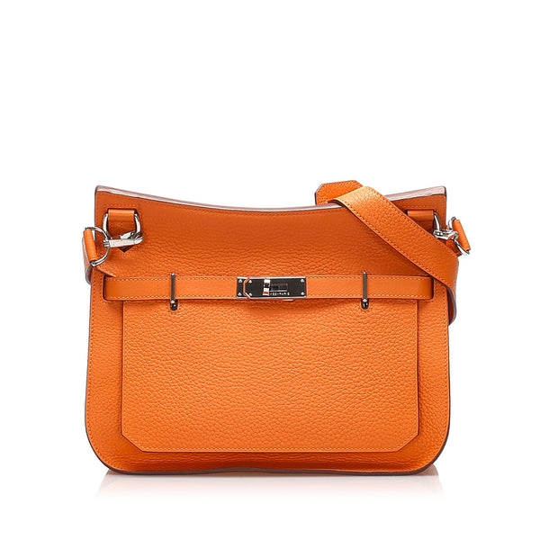 Orange Hermes Swift Jypsiere 28 Bag